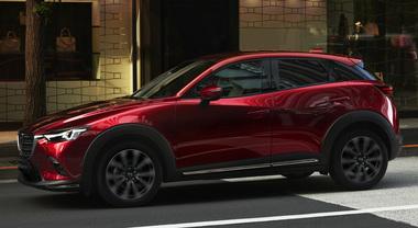 Mazda, sotto i riflettori del salone di New York 2018 il restyling della CX-3