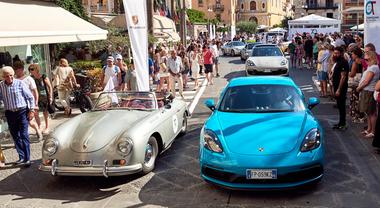 Porsche: i primi 70° anni festeggiati in un emozionante giro d'Italia con gioielli di ogni epoca