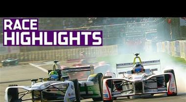 Formula E, le immagini più emozionanti dell'E-Prix di Messico City