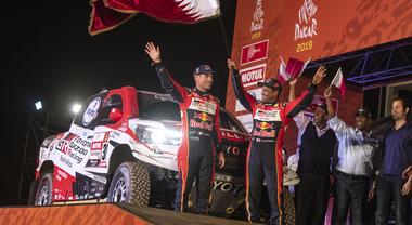 Toyota trionfa alla Dakar. Hilux del principe qatariota Al-Attiyah vince l'edizione 2019