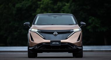 Ariya, debutta il crossover elettrico di Nissan
