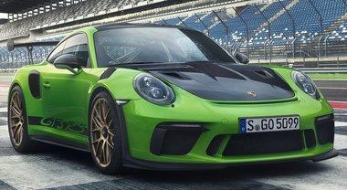911 GT3 RS, la Porsche aspirata più potente di sempre. Debutto a Ginevra per i 70 anni della casa