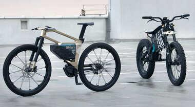 BMW, i Vision Amby e Vision Amby, le ciclo-bike elettriche. Un nuovo modo di viaggiare a metà tra una bici e una moto