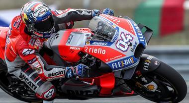 Ducati e Dovizioso pole a Brno, precedono Rossi e Marquez