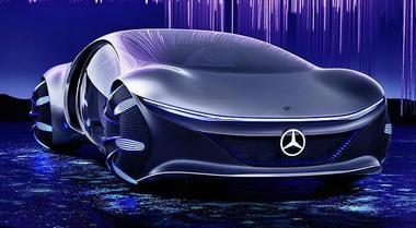 Mercedes Vision AVTR si ispira ad Avatar. Design bio e batterie organiche per la mobilità del futuro