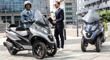 Piaggio, ecco i nuovi modelli gamma Mp3: prestazioni superiori, più comfort e nuovo design