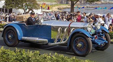 Pebble Beach, la Mercedes-Benz S Tourer 1929 vince il concorso d'eleganza
