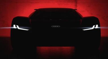 Audi, l'avveniristica supercar elettrica PB18 e-Tron sarà protagonista a Peeble Beach