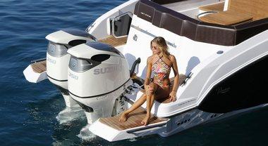 Suzuki Marine: fuoribordo hi-tech da 2,5 a 350 hp. E con 2 eliche controrotanti arriva la trazione integrale