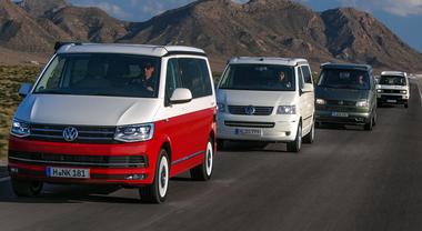 Volkswagen, il California festeggia 30 anni con un viaggio da Venice Beach a Hollywood