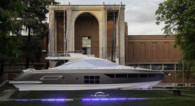 Azimut, svelati alla Design Week i piani 2019: arte e design per gli yacht del futuro