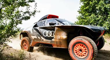 Audi RS Q e-tron: il prototipo per la Dakar 2022 nei primi test offroad