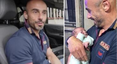 Neonato abbandonato a Brescia, il capopattuglia che lo ha trovato: «Chi lo ha lasciato lo ha fatto con criterio»