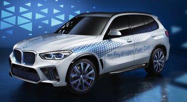 BMW i Hydrogen Next, look dell'X5 ma il cuore è a idrogeno con le fuel cell