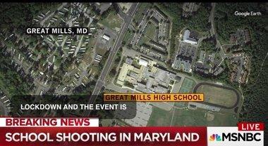 """Sparatoria in una scuola superiore in Maryland alla Great Mills High School: """"Almeno 7 feriti"""""""