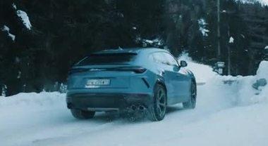 Lamborghini Christmas Drive, il viaggio natalizio di Aventador SVJ Huracán EVO e Urus