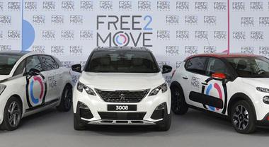 Free2Move lancia nuove offerte in 65 Paesi. Società diventa indipendente, integrazione con TravelCar