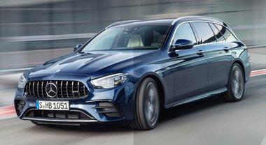 Classe E AMG, le alte prestazioni di Mercedes in versione elettrificata: 435 cv e 520 Nm di coppia