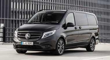 Mercedes Vito, crescono confort e sicurezza. Debutta la versione 100% elettrica con 421 km di autonomia