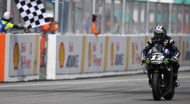 Gp Malesia, capolavoro di Vinales per battere Marquez. Dovizioso sul podio, 4° Rossi