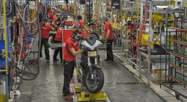 """Ducati premiata con il """"Top Employer Italia 2020""""per le condizioni di lavoro offerte ai suoi dipendenti"""
