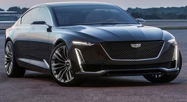 """Cadillac Escala, il sogno americano ha le ali della """"Dea volante"""""""