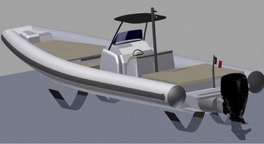 Coastal Boat, parte da Napoli una nuova sfida. Eco-gommoni a gas e foil per volare sull'acqua