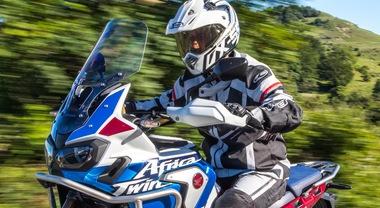 Honda Africa Twin Adventure Sports, l'evoluzione tecnologica della mitica dominatrice della Paris-Dakar