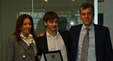 """L'Automobile Club Roma premia Andrea Cola come """"Migliore promessa 2019 dell'automobilismo"""""""