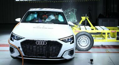 Sicurezza in auto, ai test Euro Ncap 5 stelle per Audi, Isuzu, Kia, Land Rover e Seat, 4 per l'elettrica Honda e 3 per Hyundai i10