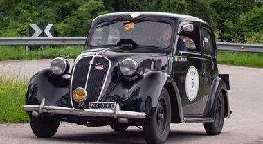 Alla coppia Moceri-Dicembre su Fiat 508C del 1939 la Coppa d'Oro delle Dolomiti