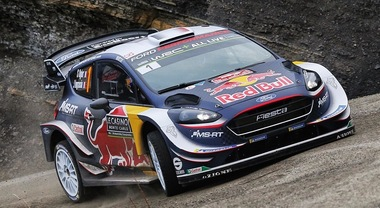 WRC, a Montecarlo la Fiesta di Ogier sempre in testa tallonato dalla Toyota Yaris di Tänak