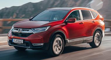 CR-V, un'Honda irresistibile. Arriva la 5^ generazione del Suv più venduto al mondo: ora anche a 7 posti