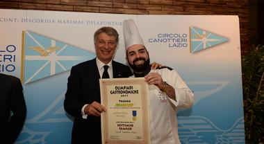 Il Circolo Canottieri Lazio si aggiudica le Olimpiadi del Gusto. Settimio Scacco chef dell'anno