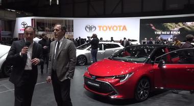 Salone di Ginevra 2019, le novità di Toyota illustrate dall'ad Mauro Caruccio