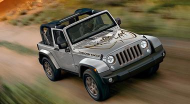 Wrangler JK, Jeep celebra i 10 anni con 3 serie speciali: Golden Eagle, JK Edition e Rubicon Recon
