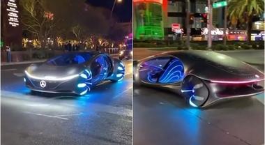 La Mercedes sembra uscita da Avatar: la nuova Vision AVTR viene dal futuro