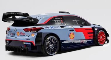 Hyundai Motorsport presenta la nuova i20 WRC Coupé per il campionato 2018