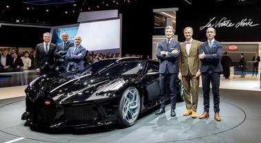 Bugatti Voiture Noire: a Ginevra una splendida follia da 11 milioni di dollari