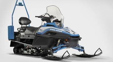 Yamaha, ecco le motoslitte per la Polizia: Viking Professional in livrea e allestimento specifico