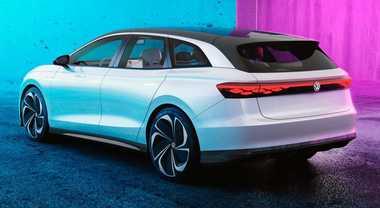 Volkswagen ID. Space Vizzion, il concept che anticipa la station wagon elettrica per il 2021