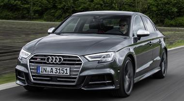 Audi A3, sportività nel Dna: la grinta delle versioni S e RS