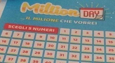 Million Day, estrazione di oggi mercoledì 9 gennaio 2019: tutti i numeri vincenti
