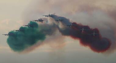 """Le Frecce Tricolori per l'ultima gara di Valentino Rossi a Misano. La pattuglia acrobatica sorvolerà il circuito """"Marco Simoncelli"""""""