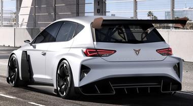 e-Racer, svelata la Cupra da corsa a emissioni zero. Nel TCR sfiderà le turismo a benzina