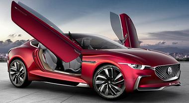 MG E-Motion, a Shanghai la coupé elettrica reinterpretazione della mitica MGB