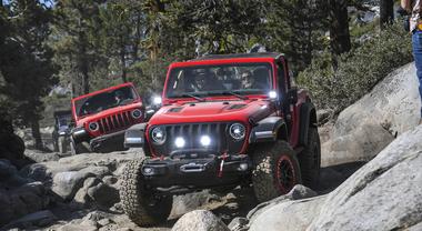 Jeep Wrangler Mopar, al Rubicon Trail il gioiello personalizzato