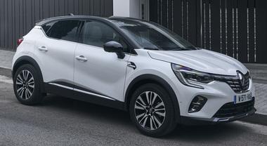 Renault, ecologico il nuovo Captur: arriva la versione E-Tech ricaribile