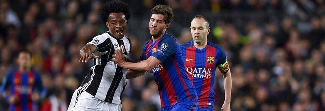 Barcellona-Juventus, Cuadrado: «Ringrazio Dio per la qualificazione»