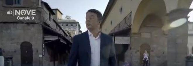 Renzi conduttore: su Twitter un assaggio del suo programma su Firenze